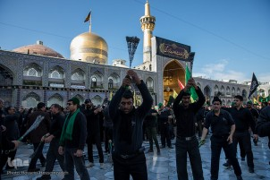 Imam Reza (AS) Martyrdom Anniversary Mourned in Mashhad
