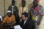 Quran in French Gifted to Director of Radio Senegal