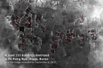 AI Releases Satellite Images of Burnt Rohingya Villages in Rakhine