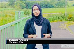 First Hijab-Wearing TV Reporter in Scotland Makes History